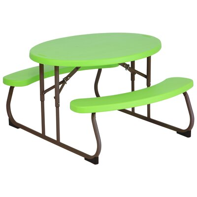 Children's Oval Picnic Table by Lifetime