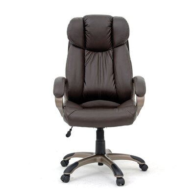 Sauder Gruga Deluxe Leather Executive Chair