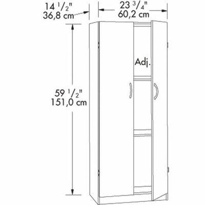 Sauder Beginnings 2 Door Storage Cabinet