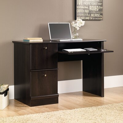 Sauder Steward Computer Desk with Keyboard Tray