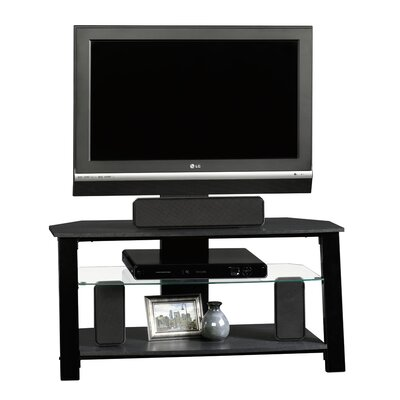 Beginnings TV Stand in Black by Sauder