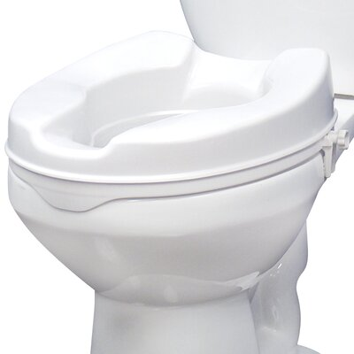 Safe Lock Raised Toilet Seat Wayfair