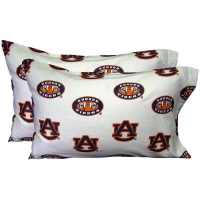 NCAA Auburn Pillowcase by College Covers