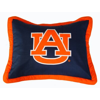 NCAA Auburn Pillow Sham by College Covers