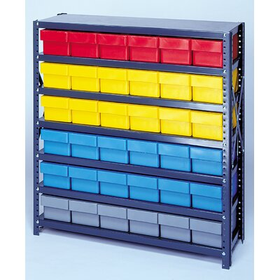 Quantum Storage Open Shelving Storage System with Euro Drawers