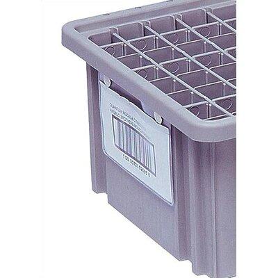 "Quantum Storage Dividable Grid Storage Container Label Holder (5"" L x 8"" W)"
