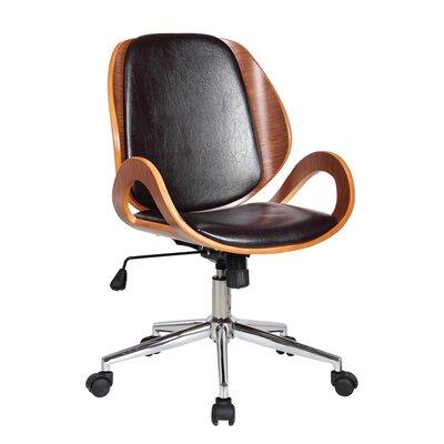 Boraam Rika Desk Adjustable Mid Back Office Chair