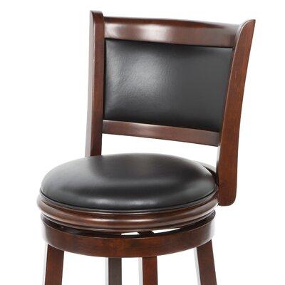 "Boraam Industries Inc Augusta 24"" Swivel Bar Stool with Cushion"
