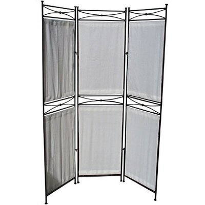 "Pangaea Home and Garden 68"" x 58"" Large 3 Panel Room Divider"