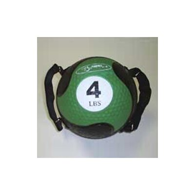 """FitBall Medballs With Straps 7.75"""" in Green"""