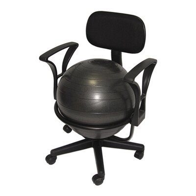 AeroMAT Low-Back Deluxe Ball Chair