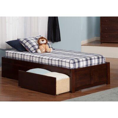 Atlantic Furniture Urban Lifestyle Concord Platform Bed With Storage