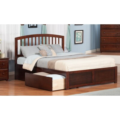 Atlantic Furniture Madison King Storage Panel Bed
