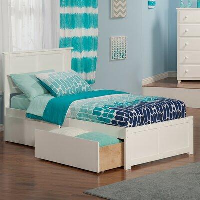 Atlantic Furniture Urban Lifestyle Madison Panel Bed With Storage Reviews Wayfair