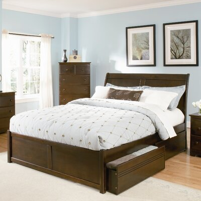 Atlantic Furniture Bordeaux Storage Platform Bed