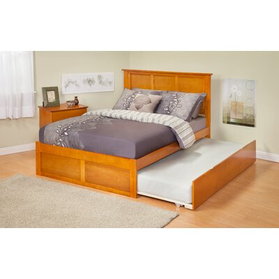 Atlantic Furniture Urban Lifestyle Madison Panel Bed with Twin Trundle
