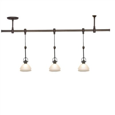 Trenton 3 Light Track Lighting Pendant Kit Product Photo