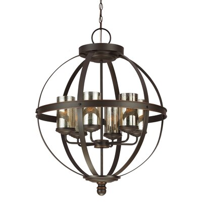 Sfera 6 Light Chandelier Product Photo