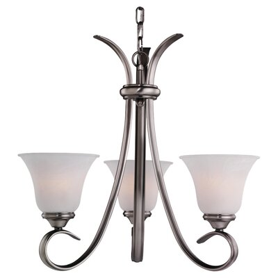 Sea Gull Lighting Rialto 3 Light 100W Chandelier