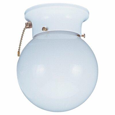 """Sea Gull Lighting 7.75"""" 1 Light Flush Mount"""