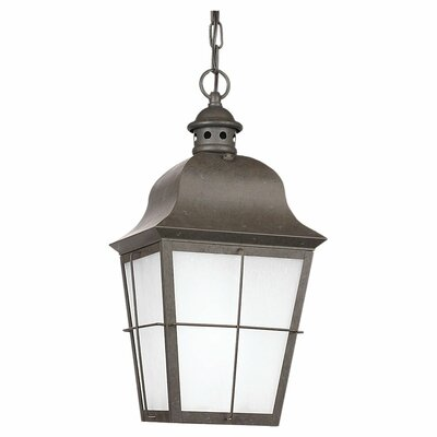 Sea Gull Lighting Chatham 1 Light Outdoor Hanging Lantern