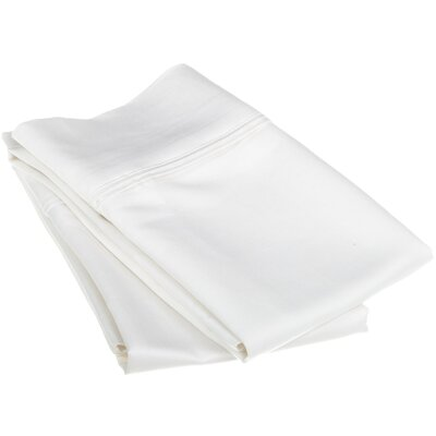 1200 Thread Count Egyptian Cotton Solid Pillowcase by Simple Luxury