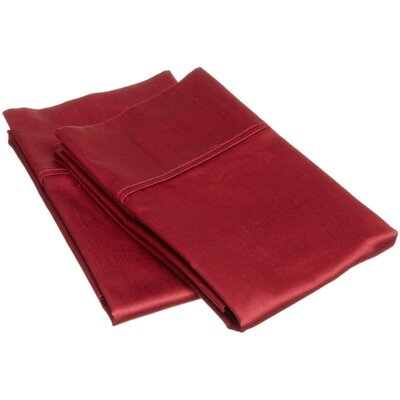 400 Thread Count Egyptian Cotton Solid Pillowcase by Simple Luxury