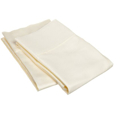 300 Thread Count Egyptian Cotton Solid Pillowcase by Simple Luxury