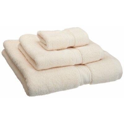 Simple Luxury Luxurious Egyptian Cotton 3 Piece Towel Set
