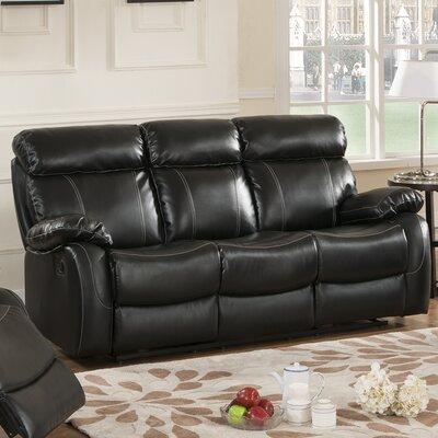 Chateau Leather Reclining Sofa by Primo International