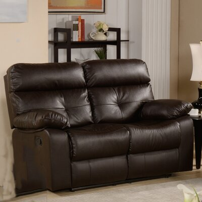 Roquette Leather Reclining Loveseat by Primo International