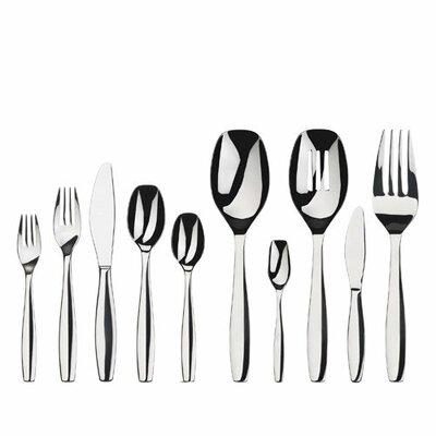Everyday 45 Piece Cruise Flatware Set by Gourmet Settings