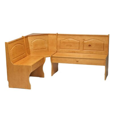 linon chelsea solid wood corner kitchen bench reviews