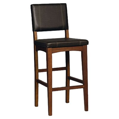 Linon Milano 30 Quot Bar Stool With Cushion Amp Reviews Wayfair