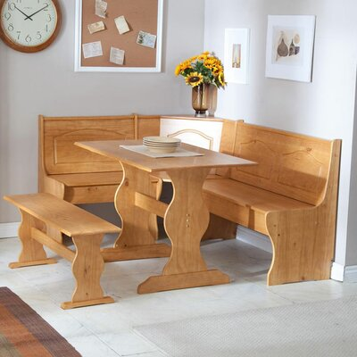 3 Piece Dining Set by August Grove