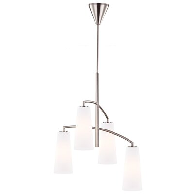 Coddington 4 Light Candle Chandelier by Feiss