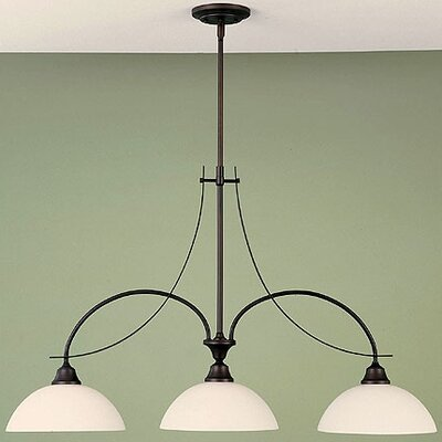 Boulevard 3 Light Kitchen Island Pendant Product Photo