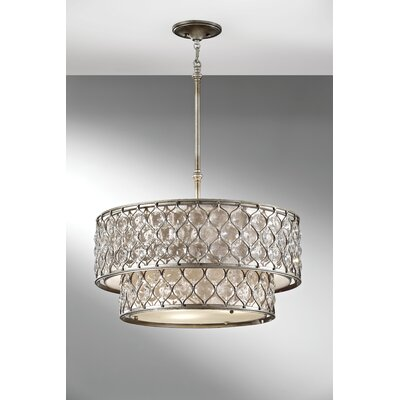Lucia 6 Light Chandelier Product Photo