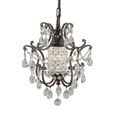 Masion De Ville 1 Light Mini Chandelier Product Photo