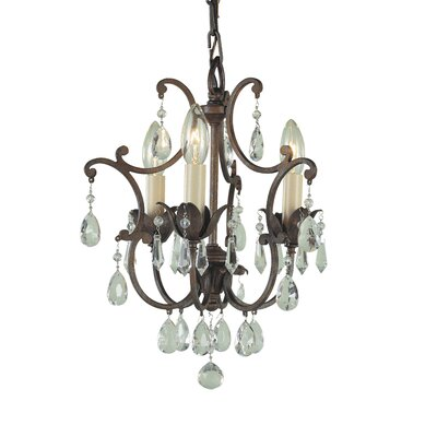 Maison De Ville 3 Light Mini Chandelier Product Photo