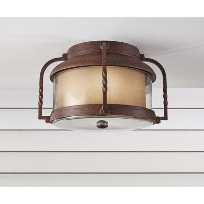 Menlo Park 2 Light Flush Mount Product Photo