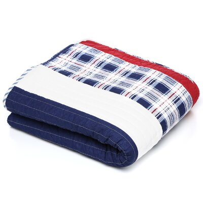 Greenland Home Fashions Nautical Stripe Cotton Throw
