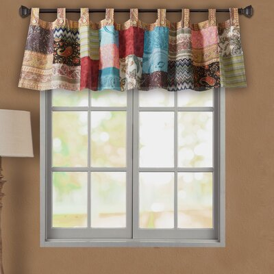 "New Bohemian 84"" Patchwork Curtain Valance Product Photo"