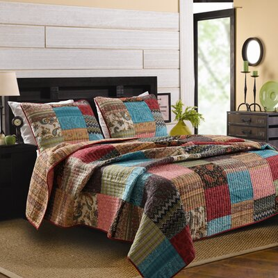 New Bohemian Quilt Collection by Greenland Home Fashions