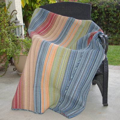 Katy Quilted Cotton Throw Blanket by Greenland Home Fashions