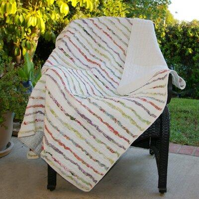 Greenland Home Fashions Bella Cotton Ruffle Throw