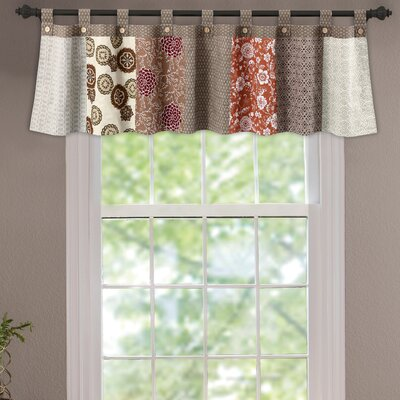 "Stella Tab Top Tailored 84"" Curtain Valance Product Photo"