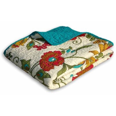 Greenland Home Fashions Clearwater Cotton Throw