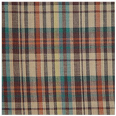 Multi Brown and Tan Plaid Napkin by Patch Magic