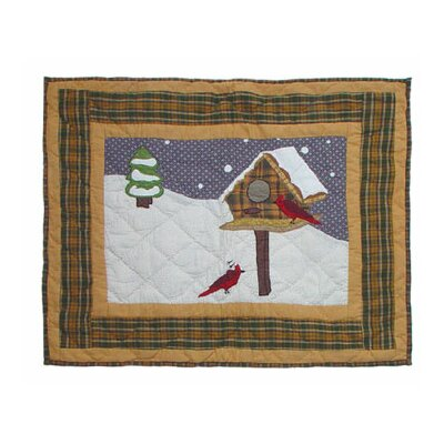 Four Seasons Winter Pillow Sham by Patch Magic